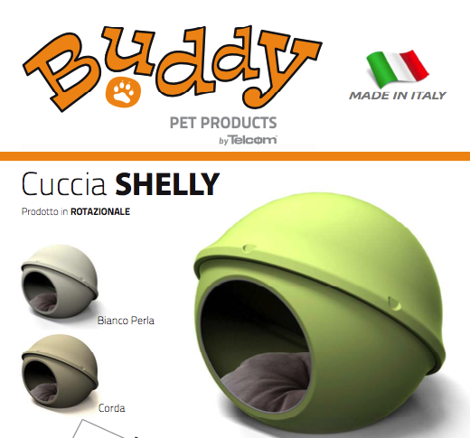 Cuccia SHELLY by Telcom